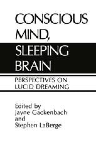 Lucid Dream Induction | SpringerLink