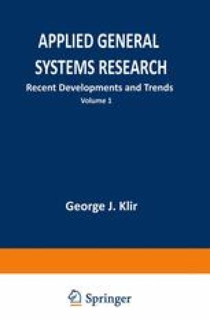 Applied General Systems Research