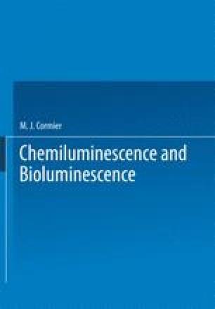 Chemiluminescence and Bioluminescence
