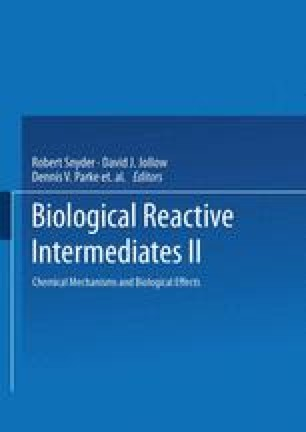 Biological Reactive Intermediates—II