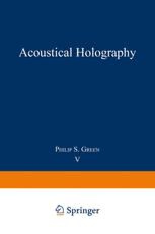 Acoustical Holography