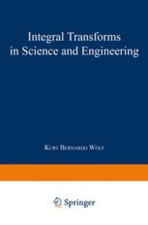 Integral Transforms in Science and Engineering