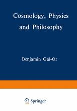 Cosmology, Physics and Philosophy