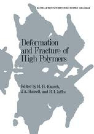 Deformation and Fracture of High Polymers