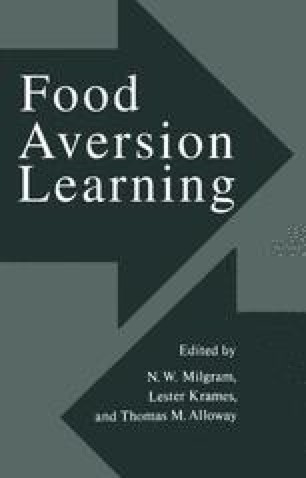 Food Aversion Learning