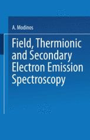Field, Thermionic, and Secondary Electron Emission Spectroscopy