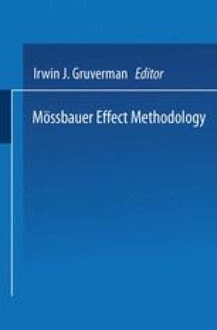 Mössbauer Effect Methodology