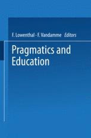 Pragmatics and Education