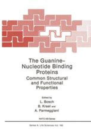 The Guanine — Nucleotide Binding Proteins