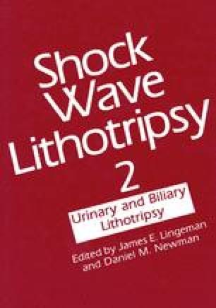 Shock Wave Lithotripsy 2