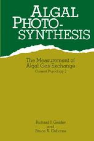 Algal Photosynthesis