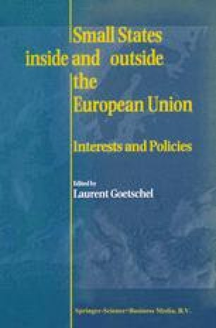 Small States Inside and Outside the European Union