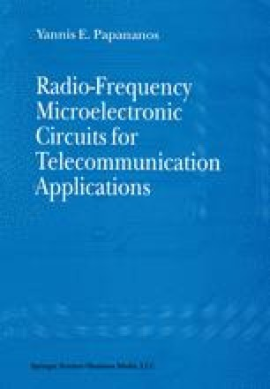 Radio-Frequency Microelectronic Circuits for Telecommunication Applications