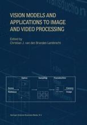 Vision Models and Applications to Image and Video Processing