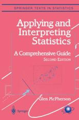 Applying and Interpreting Statistics