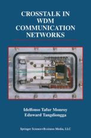 Crosstalk in WDM Communication Networks