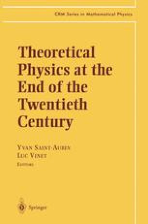 Theoretical Physics at the End of the Twentieth Century