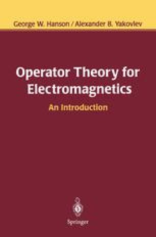 Operator Theory for Electromagnetics