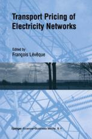 Transport Pricing of Electricity Networks