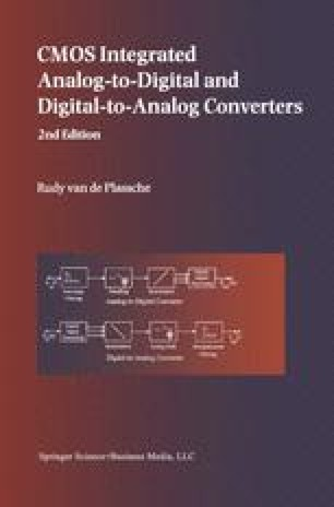 CMOS Integrated Analog-to-Digital and Digital-to-Analog Converters