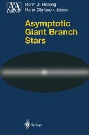 Asymptotic Giant Branch Stars