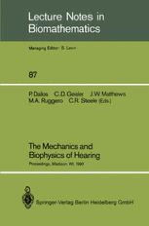 The Mechanics and Biophysics of Hearing