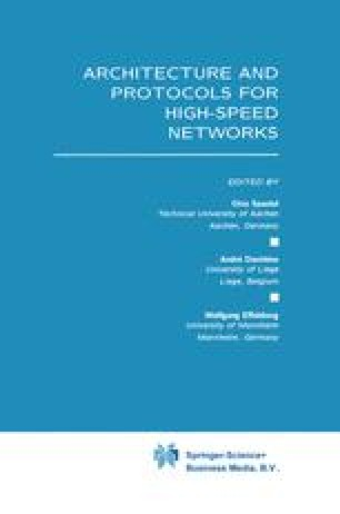 Architecture and Protocols for High-Speed Networks