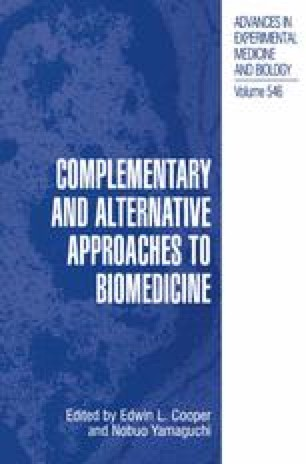 Complementary and Alternative Approaches to Biomedicine