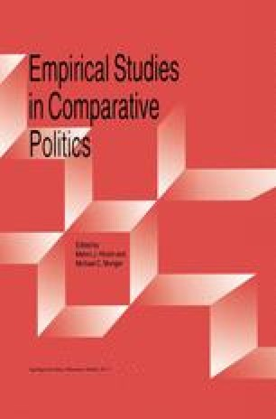 Empirical Studies in Comparative Politics