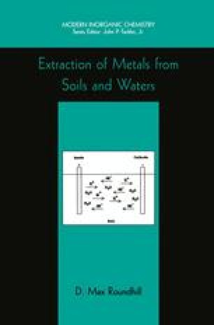 Extraction of Metals from Soils and Waters