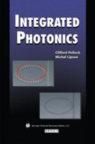 Integrated Photonics