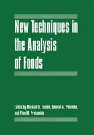 New Techniques in the Analysis of Foods