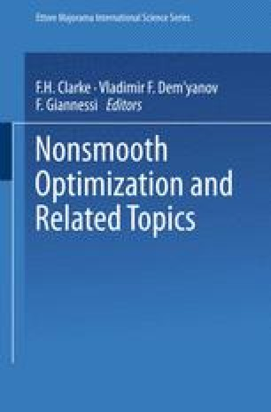 Nonsmooth Optimization and Related Topics
