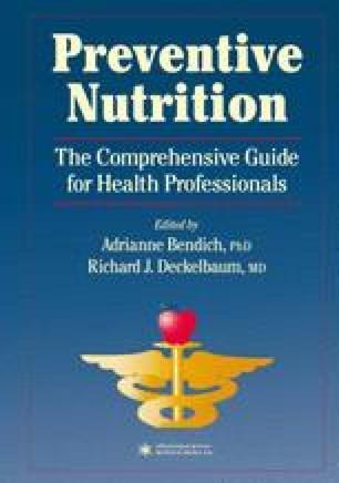 Preventive Nutrition