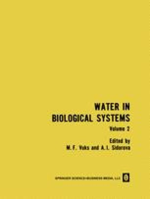 Water in Biological Systems