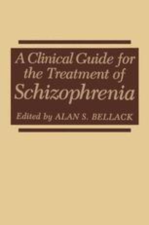 A Clinical Guide for the Treatment of Schizophrenia