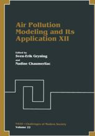 Air Pollution Modeling and Its Application XII