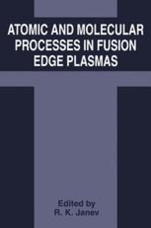 Atomic and Molecular Processes in Fusion Edge Plasmas