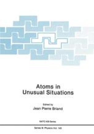 Atoms in Unusual Situations