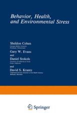 Behavior, Health, and Environmental Stress