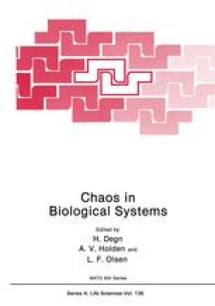 Chaos in Biological Systems
