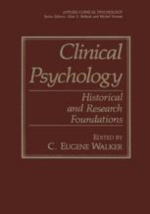 introduction to clinical psychology 4th edition pdf