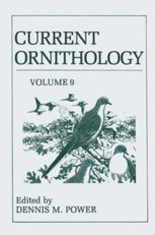 Current Ornithology