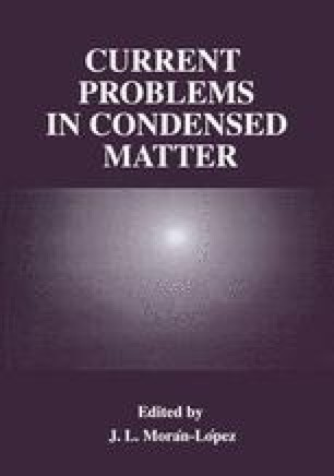 Current Problems in Condensed Matter
