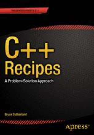 C++ Recipes
