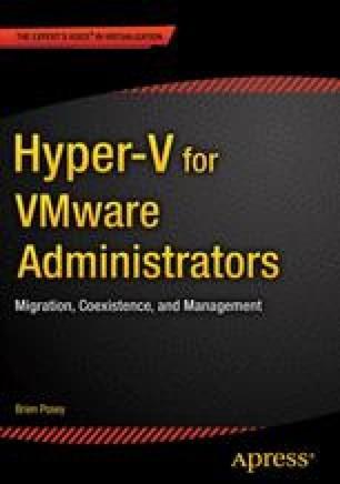 Hyper-V for VMware Administrators