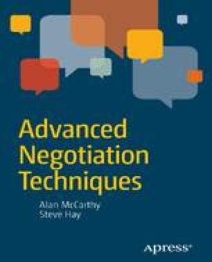 Advanced Negotiation Techniques