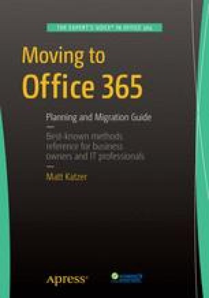 Moving to Office 365
