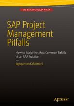 SAP Project Management Pitfalls