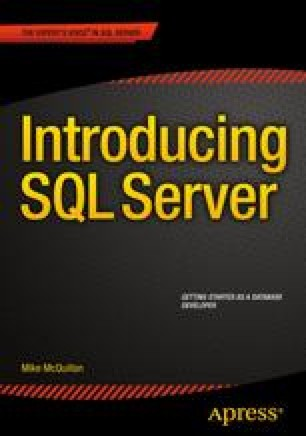 Introducing SQL Server